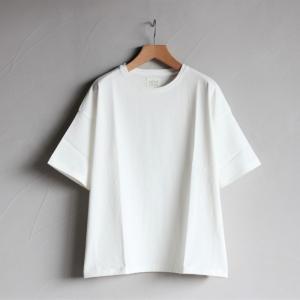 クロ カットソー KURO ビッグ Tシャツ PARALLELED YARN HIGH GAUGE BIG TEE オフホワイト 2019春夏新作|charger