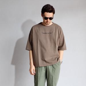 クロ Tシャツ KURO KURO x VVV コラボ ビッグ Tシャツ カーキ BIG TEE CESSEZ KHAKI 2019春夏新作|charger