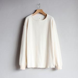 クロ Tシャツ KURO ハニカム ロングスリーブ Tシャツ HONEYCOMB L/S TEE オフホワイト OFFWHITE 2020秋冬新作 charger