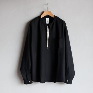 クロ シャツ KURO T/Wプルオーバーシャツ T/W Pullover Shirt ブラック BLACK 2020秋冬新作 charger