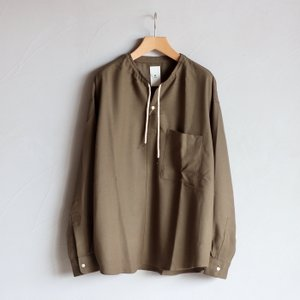 SALE 40%OFF  クロ シャツ KURO T/Wプルオーバーシャツ T/W Pullover Shirt カーキ KHAKI 2020秋冬新作 charger