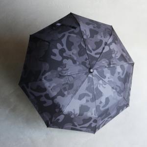wjk 傘 ダブルジェイケイ カモフラ柄折りたたみ傘 folding umbrella チャコールカモ Charcoal camo 2021春夏新作 charger