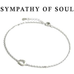 シンパシーオブソウル SYMPATHY OF SOUL Small Horseshoe Chain Anklet Silver スモール ホースシュー チェーン アンクレット シルバー|charger