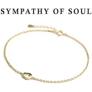 シンパシーオブソウル SYMPATHY OF SOUL Small Horseshoe Chain Anklet K18Yellow Gold スモール ホースシュー チェーン アンクレット K18イエローゴールド|charger