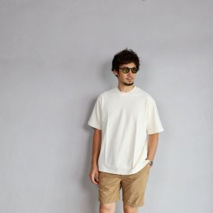 alvana カットソー アルヴァナ Tシャツ  ARCHIVE DYE ULTIMATE HARD WIDE TEE  OVER IVORY 2019年夏秋モデル|charger