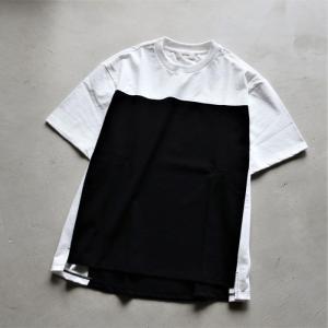 alvana Tシャツ アルヴァナ  プロテクトフットボールTシャツ PROTECT FOOTBALL S/S TEE SHIRTS ホワイト×ブラック WHITE×BLACK 2021春夏新作 charger