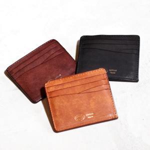 アナック プエブロ レザー コンパクトウォレット ANNAK ユニセックス 財布 ブラック ブラウン ダークブラウン  3色展開|charger