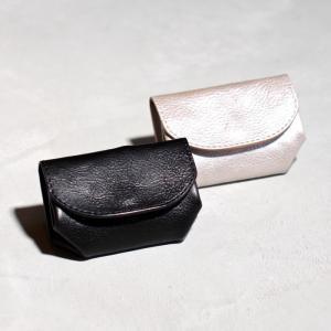アナック アマンダオイル オールレザー コインケース ANNAK  小銭入れ シルバー ブラック ユニセックス 2色展開|charger