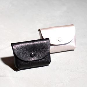 アナック アマンダオイル オールレザー ポーチ コインケース  マルチポーチ ANNAK  シルバー ブラック ユニセックス 2色展開|charger