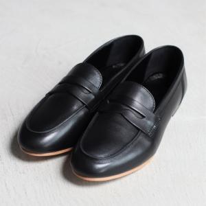 アルコレッタパドローネ 再入荷 革靴  ARCOLLETTA PADRONE ローファー LOAFERS ブラック BLACK|charger
