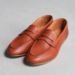 アルコレッタパドローネ 再入荷 革靴  ARCOLLETTA PADRONE ローファー LOAFERS ブラウン BROWN|charger