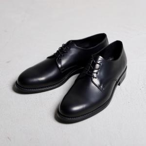 アルコレッタパドローネ 革靴  ARCOLLETTA PADRONE DERBY PLAIN TOE SHOES ダービープレーントゥーシューズ BLACK ブラック 2019秋冬新作|charger