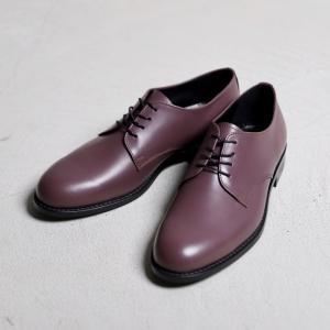アルコレッタパドローネ 革靴  ARCOLLETTA PADRONE DERBY PLAIN TOE SHOES ダービープレーントゥーシューズ Purple パープル 2019秋冬新作|charger