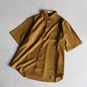 alvana シャツ アルヴァナ  リンクルプルーフシャツ WRINKLE PROOF SHIRT キャメル CAMEL 2021春夏新作|charger