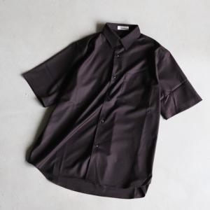 alvana シャツ アルヴァナ  リンクルプルーフシャツ WRINKLE PROOF SHIRT チャコール CHARCOAL 2021春夏新作 charger