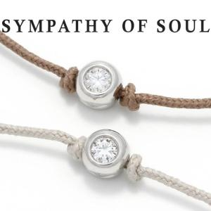 シンパシーオブソウル ブレスレット SYMPATHY OF SOUL ワンエルジーダイヤモンドブレスレット One LG Diamond Bracelet SILVER シルバー|charger