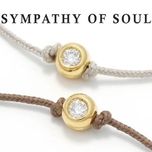 シンパシーオブソウル ブレスレット SYMPATHY OF SOUL ワンエルジーダイヤモンドブレスレット One LG Diamond Bracelet K18 YG ゴールド|charger