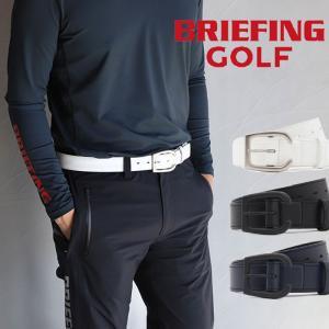 ブリーフィング ゴルフ メンズ ベルト BRIEFING GOLF BUCKLE LEATHER BELT ブラック ネイビー BLACK NAVY 2色展開|charger