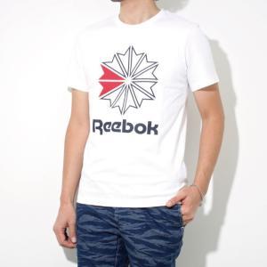 Reebok CLASSIC リーボック クラシック 2018春夏新作 スタークレスト ロゴTシャツ WHITE ホワイト|charger