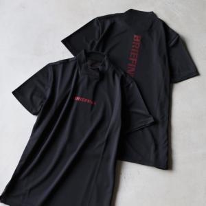 ブリーフィング ゴルフ メンズ シャツ BRIEFING GOLF ツアーハイネックシャツ TOUR HIGHNECK SHIRTS ブラック BLACK 2021春夏新作|charger