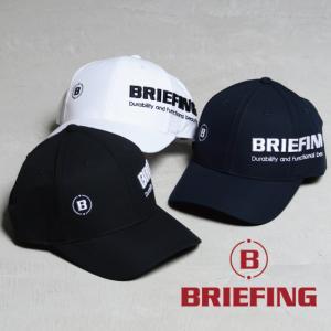 ブリーフィング ゴルフ キャップ BRIEFING GOLF ラウンドロゴキャップ ROUND LOGO CAP ホワイト/ブラック/ネイビー 3色展開|charger