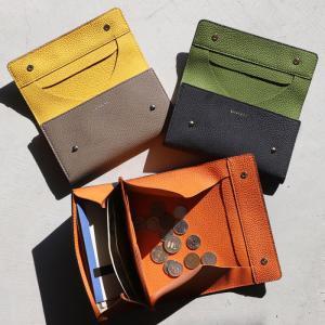 CHARGER 長財布 本革 ANNAK別注 レザーギャルソンウォレット Leather Garson wallet ブラック/ネイビー/トープ 3色展開|charger