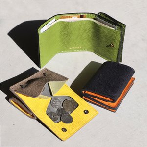 CHARGER コンパクト 財布 本革 ANNAK別注 レザーミニウォレット Leather Mini wallet ブラック/ネイビー/トープ 3色展開|charger