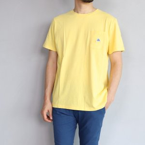 SALE 40%OFF ケープハイツ Tシャツ Cape HEIGHTS フォガティー Tシャツ ソフト イエロー FOGERTY T-SHIRT SOFT YELLOW 2019春夏新作|charger