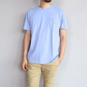 ケープハイツ Tシャツ Cape HEIGHTS フォガティー Tシャツ ラベンダーブルー FOGERTY T-SHIRT LAVENDER BLUE 2019春夏新作|charger