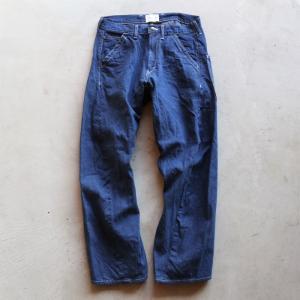 キャルオーライン パンツ CAL O LINE サスペンダー バレル ペインター パンツ SUSPENDERS BARREL PAINTER PANTS BLUE 2019秋冬新作|charger