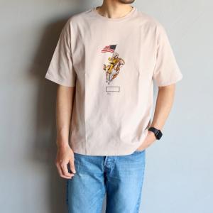 キャルオーライン Tシャツ CAL O LINE インディアンTシャツ INDIAN T-SHIRT ローズグレー ROSE GRAY 2020春夏新作 charger