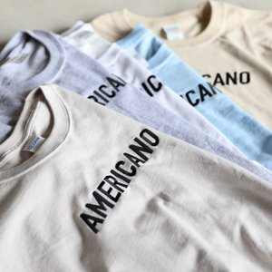 CHARGER Tシャツ チャージャー オリジナル 刺繍 Tシャツ AMERICANO メンズ レディース ユニセックス 5色展開 2019春夏新作|charger