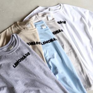 CHARGER Tシャツ チャージャー オリジナル 立体刺繍 Tシャツ LEMONADE メンズ レディース ユニセックス 5色展開 2019春夏新作|charger