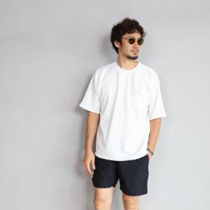 CHARGER Tシャツ チャージャー オリジナル マイクロ パイル プルオーバー カットソー メンズ ホワイト 2019春夏新作|charger