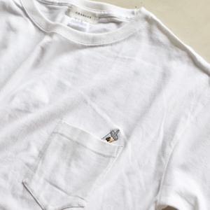 CHARGER Tシャツ ワンポイント刺繍 Tシャツ Coffee Stand RAINBOW SHAKE  EMB TEE ホワイト WHITE 2020秋冬新作 charger