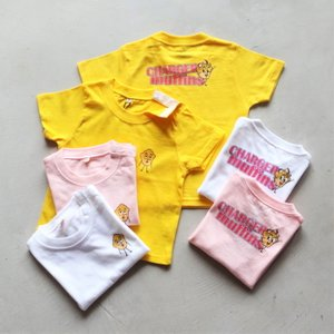 CHARGER COFFEE STAND  キッズ チャージャーコーヒースタンド オリジナル マフィンズ TEE CHARGER muffins Kids オフホワイト OFF WHITE 2021春夏新作|charger