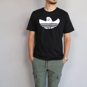 アディダスオリジナルス マークゴンザレス コラボ Tシャツ adidas originals HACT SOLID SHMOO TEE BLACK WHITE ソリッド シュムー Tシャツ ブラック 2019春夏