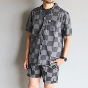 SALE 50%OFF デウス シャツ DEUS EX MACHINA チェックシャツ SENNA CHECK SHIRT ブラックチェック BLACK CHECK 2020春夏新作|charger