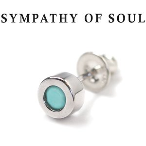 シンパシーオブソウル ピアス SYMPATHY OF SOUL シャインピアス シルバー ターコイズ Shine Pierce Silver Turquoise|charger