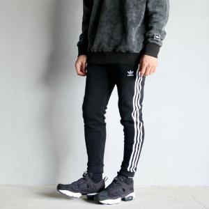 アディダスオリジナルス パンツ adidas originals 3ストライプスウェットパンツ 3STRIPE SWEAT PANTS ブラック BLACK 2021春夏新作 charger