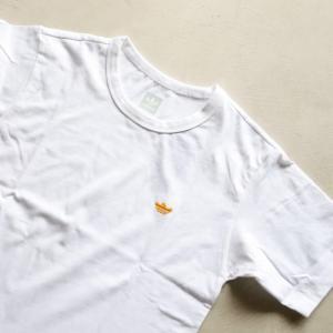 アディダスオリジナルス マークゴンザレス コラボ Tシャツ adidas originals  MINI SHMOO TEE WHITE YELLOW ミニ シュムー 刺繍 Tシャツ ホワイト 2019秋冬新作|charger