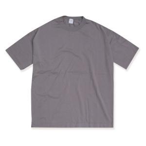 エディットクロージング Tシャツ EDIT CLOTHING  ルーズ シルエットT LOOSE SILHOUETTE TEE  GRAYGE グレージュ 2019秋冬新作|charger
