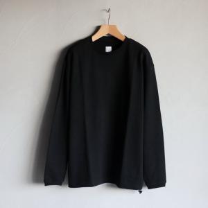エディットクロージング トップス EDIT CLOTHING ミニ裏毛L/S Mini Urake L/S ブラック Black 2020秋冬新作|charger