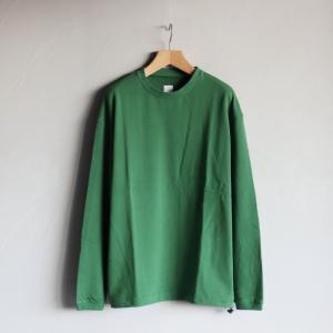 エディットクロージング トップス EDIT CLOTHING ミニ裏毛L/S Mini Urake L/S グリーン Green 2020秋冬新作|charger