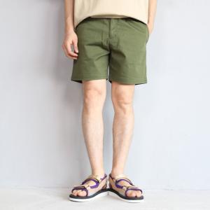 SALE 40%OFF エディットクロージング ショーツ EDIT CLOTHING チノストレッチ クライミング ショーツ カーキ Chino Strech Climbing Shorts Khaki 2019春夏新作|charger