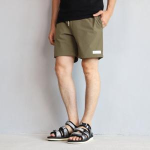 エディットクロージング ショーツ EDIT CLOTHING 4wayストレッチボードショーツ カーキ 4way stretch board shorts khaki 2019春夏新作|charger