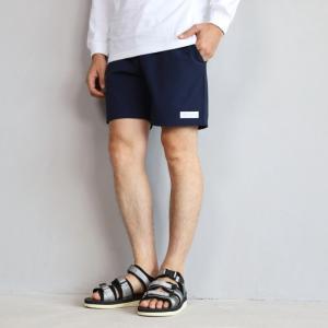 エディットクロージング ショーツ EDIT CLOTHING 4wayストレッチボードショーツ ネイビー 4way stretch board shorts navy 2019春夏新作|charger