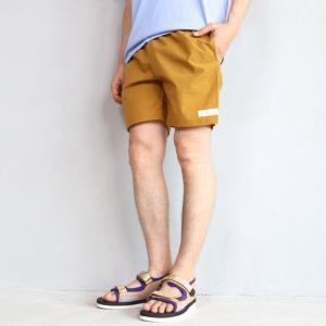 SALE 30%OFF エディットクロージング ショーツ EDIT CLOTHING ラインボードショーツ マスタード Line board shorts Mustard 2019春夏新作|charger