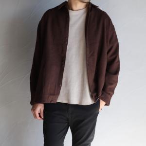 エディットクロージング ジャケット EDIT CLOTHING ヘリンボーンウールシャツジャケット Herringbone wool shirts Jacket  2020秋冬新作|charger