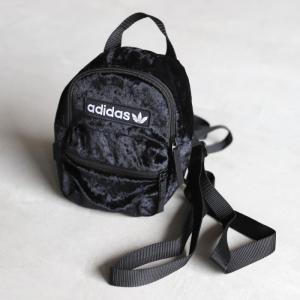アディダスオリジナルス リュック adidas originals バックパック ミニ ブラック ホワイト BACKPACK MINI BLACK WHITE 2019秋冬新作|charger